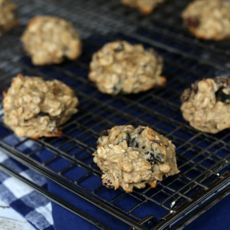 Banana Oatmeal Cookies with #CreativeCookieExchange