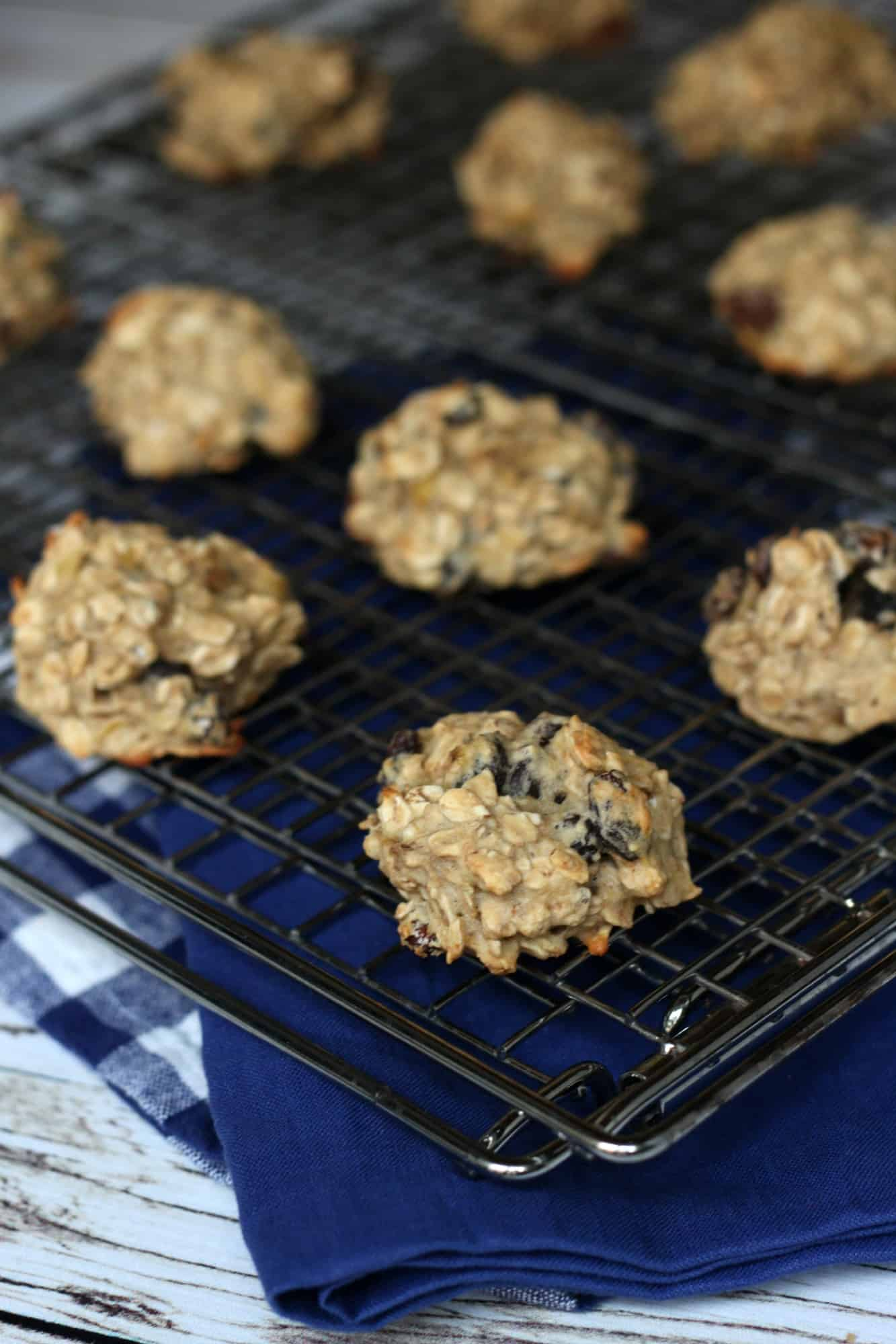 how to make oatmeal cookies without sugar