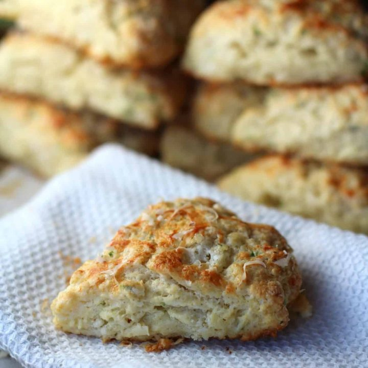 Cheese and Chive Scones with #WholeFoods