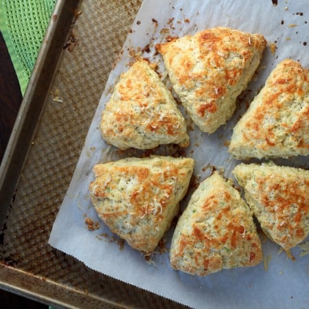 cheese scones baked