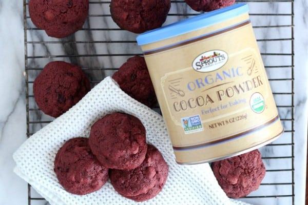 chocolate chip beet cookies