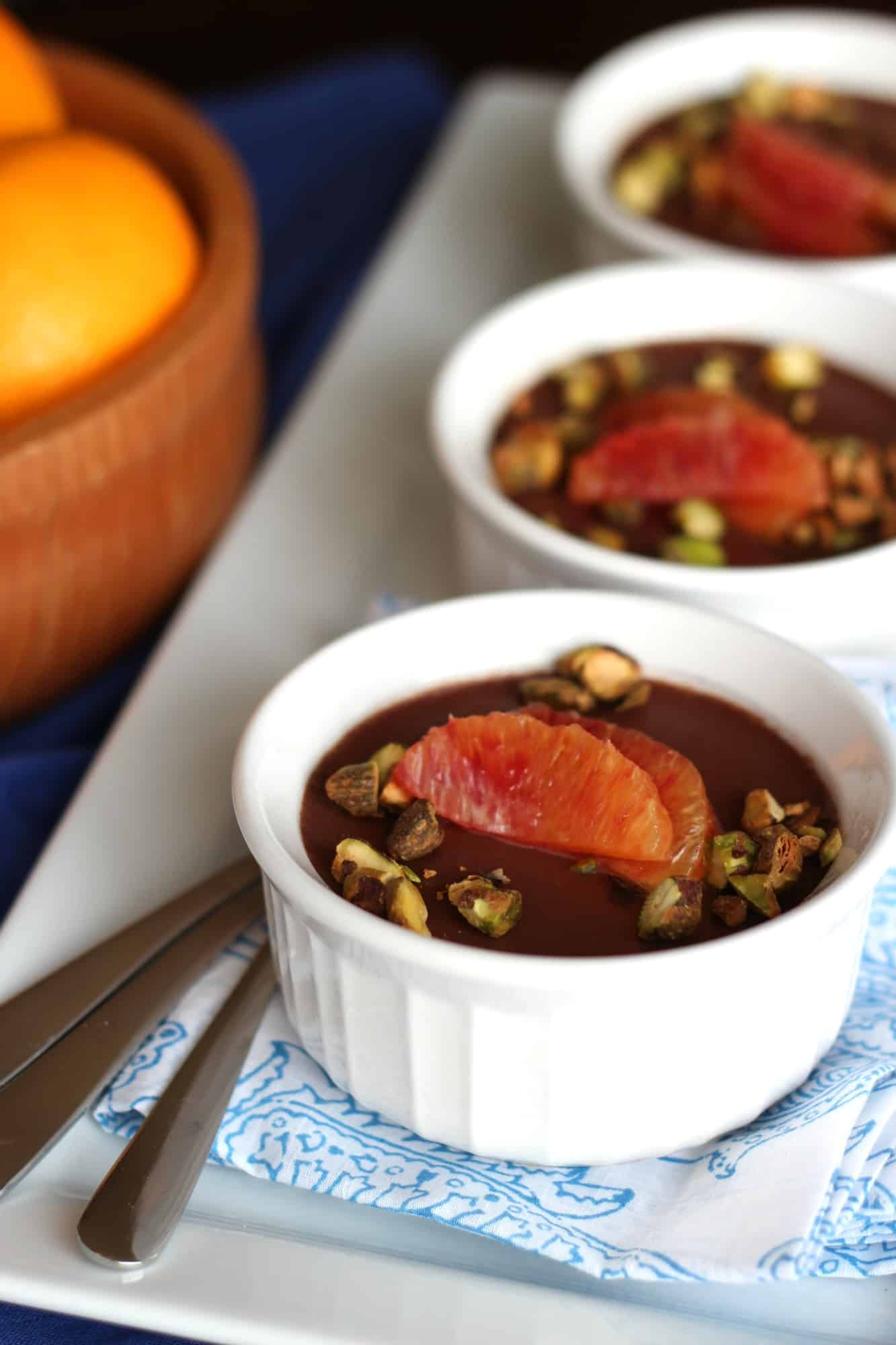 Milk Chocolate Panna Cotta with #WholeFoods