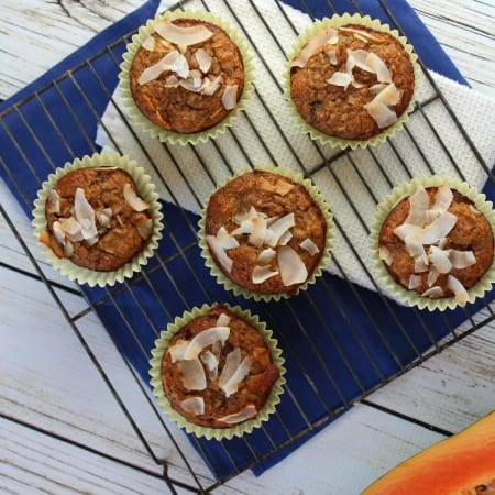 Tropical Muffins with #Sprouts Farmers Market
