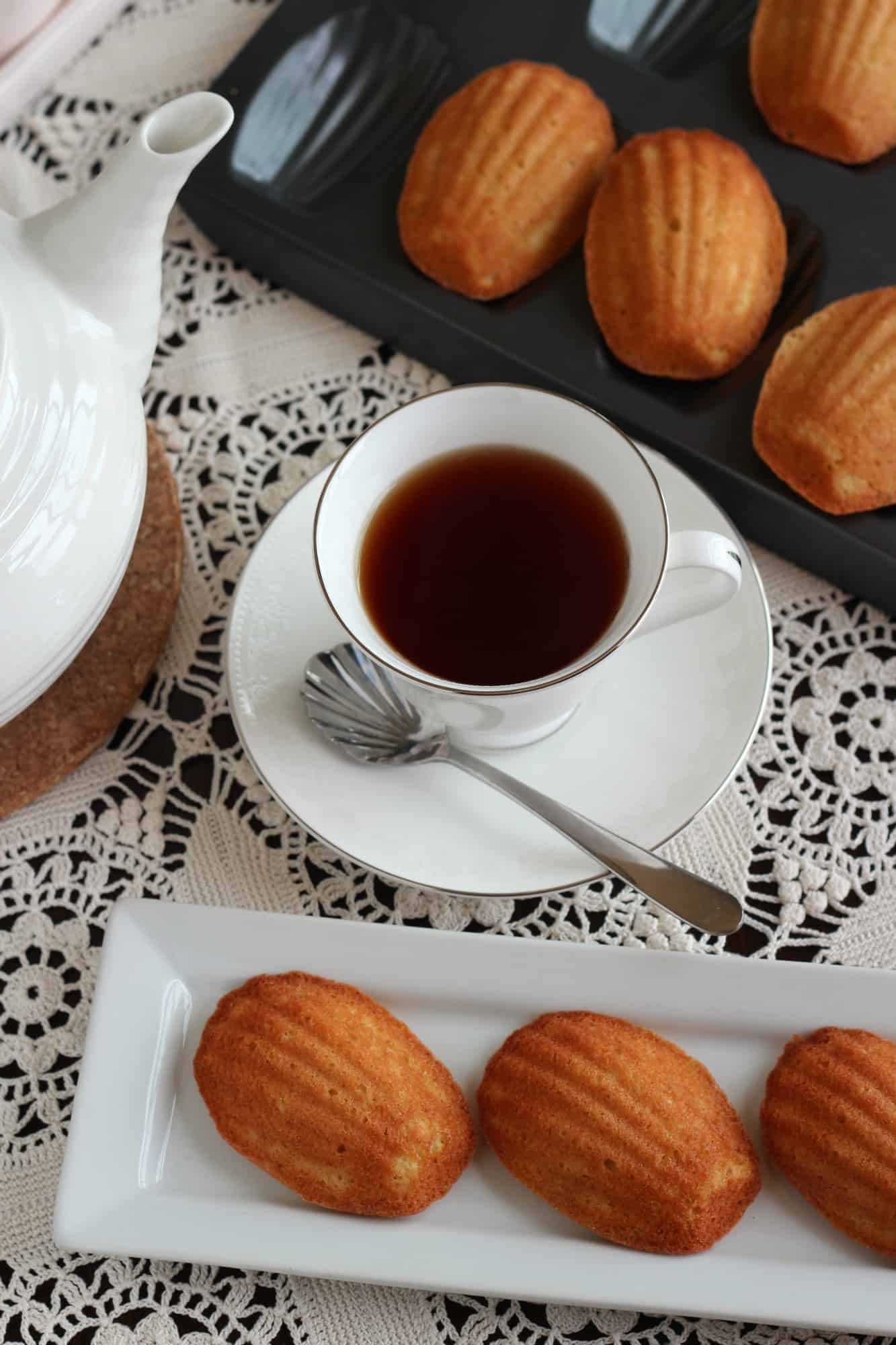 Honey and Vanilla Madeleines | A Baker's House