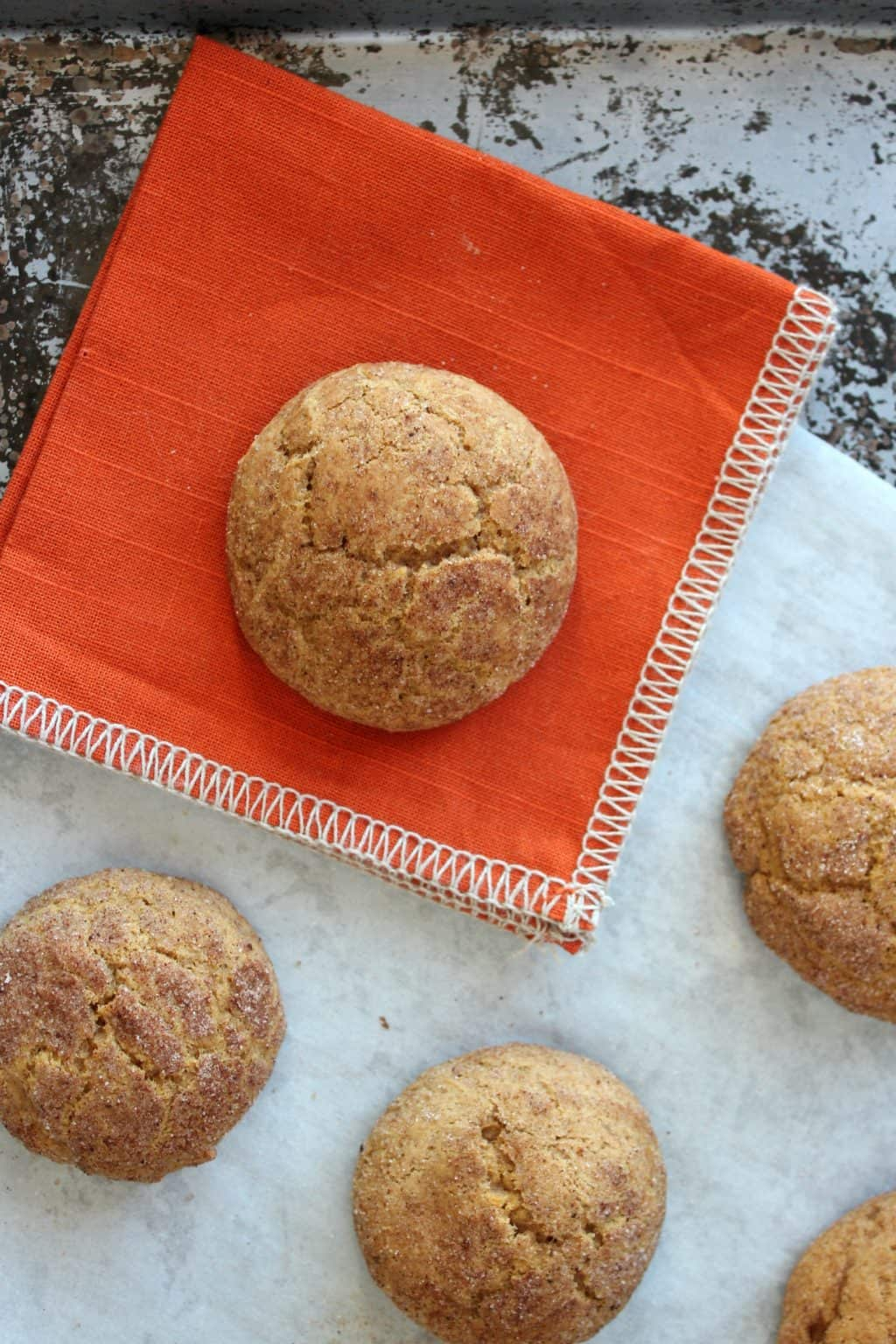 Pumpkin Snickerdoodles With Sprouts A Baker S House