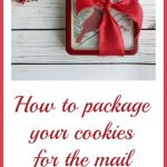 How to Package your Cookies for the Mail