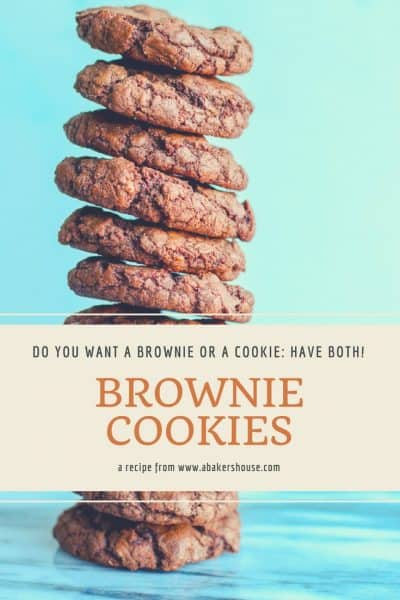 Brownie Cookies are a chocolate dream