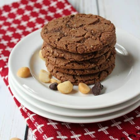 Gluten Free Nutty Chocolate Crunch Cookies