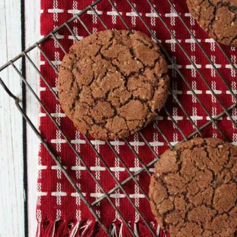Nutty Chocolate Crunch Cookies