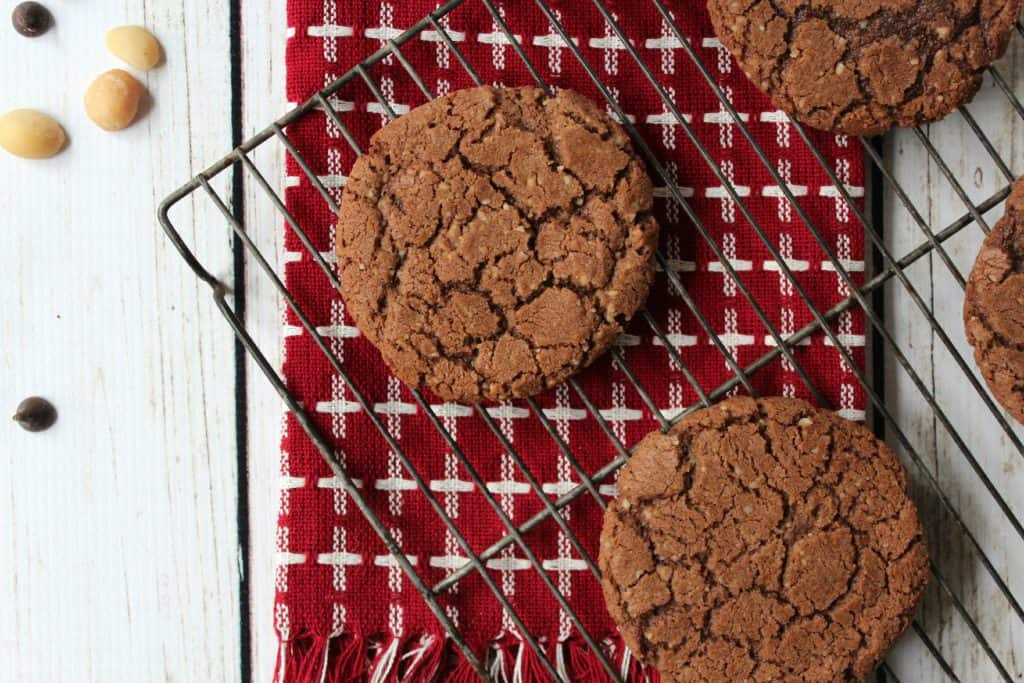 Gluten Free Nutty Chocolate Crunch Cookies with #Sprouts #IncredibleBulkBinTreatExchange