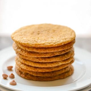 Gluten Free Butterscotch Cookies
