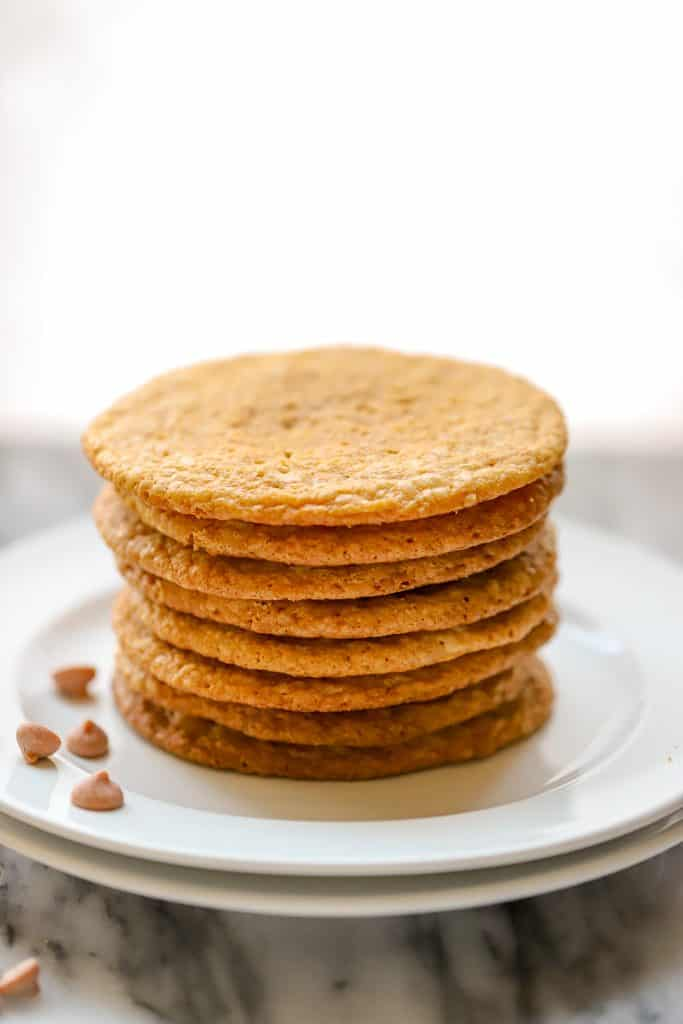 gluten free butterscotch cookies