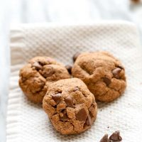 Gluten Free Nutella Chocolate Chip Cookies