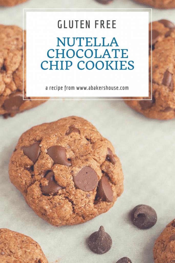 Nutella Chocolate Chip Cookies Gluten Free Cookies