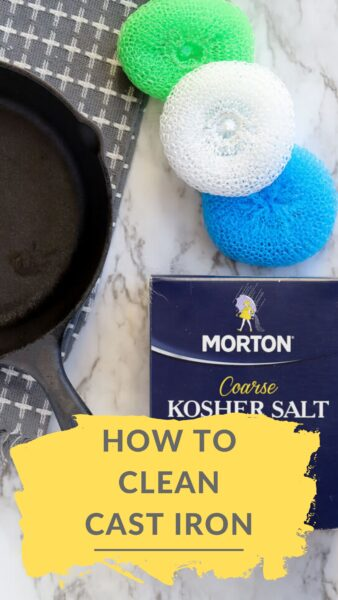 How to easily clean cast iron