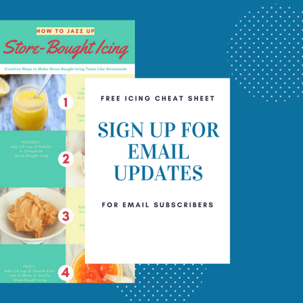 Sign up for Email Updates on A Baker's House
