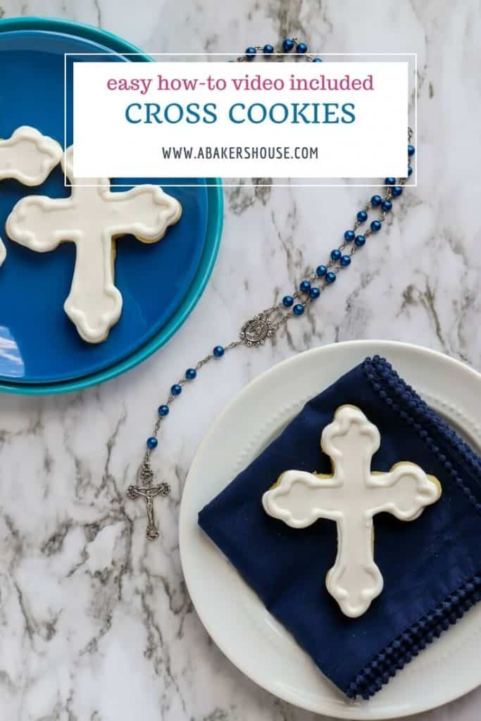 St Nicholas Cross Cookie