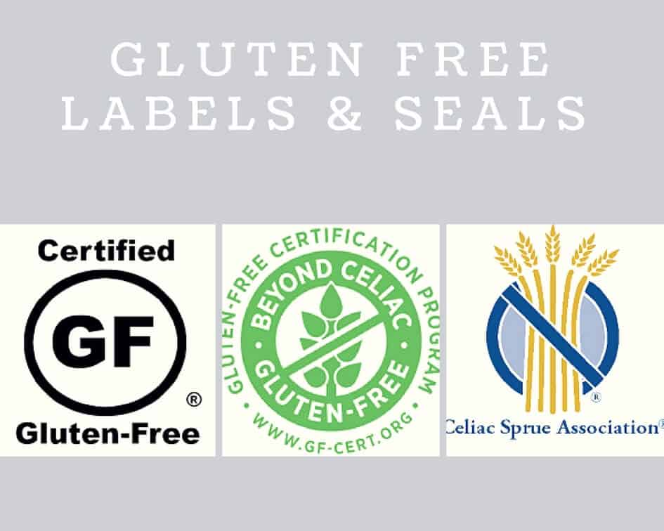 This is a graphic of Unforgettable Certified Gluten Free Label