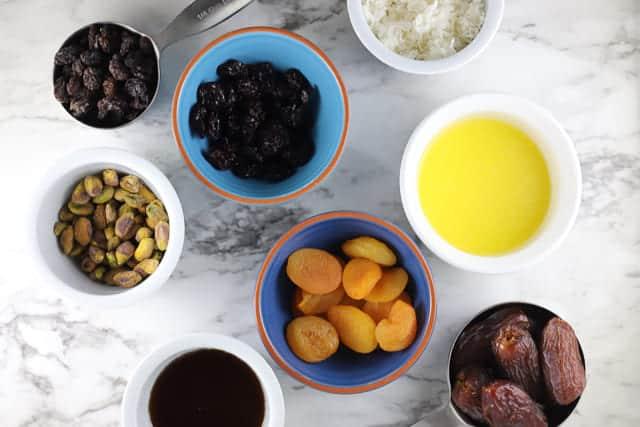 Ingredients for gluten free aussie bites