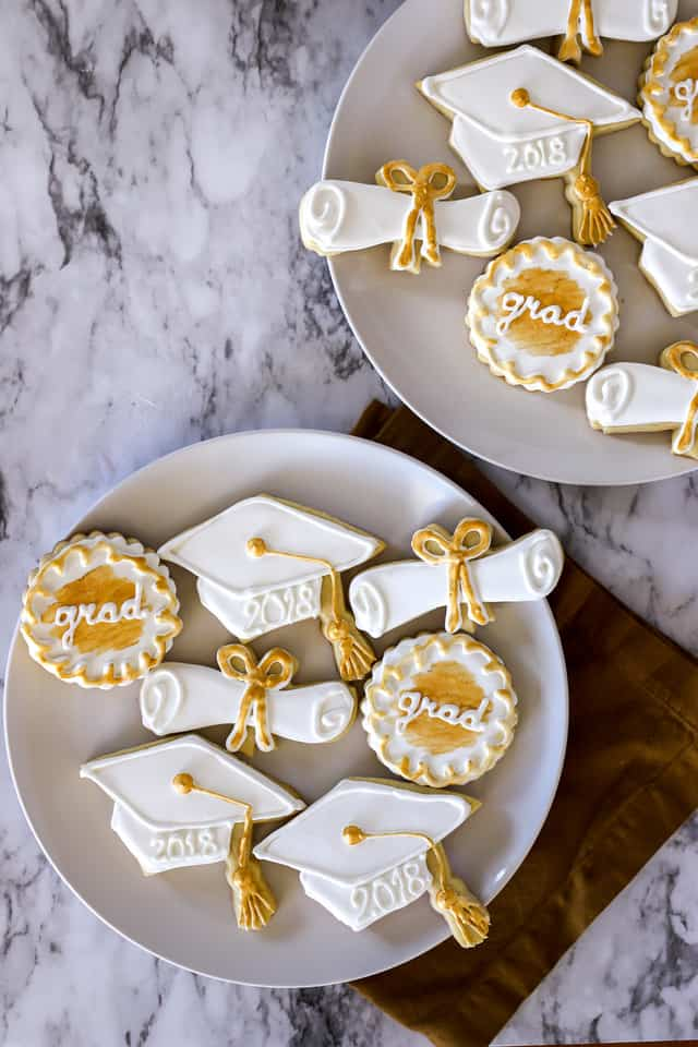 How To Make Graduation Cookies A Bakers House