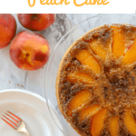 Pinterest photos for upside down peach cake