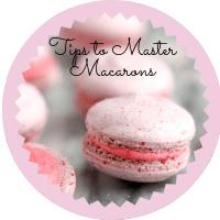 Tips to make macarons