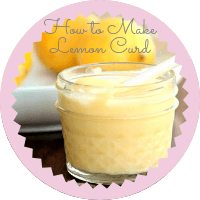 Photo to link to how to make lemon curd