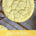 Long Pin for Pinterest almond flour cookies
