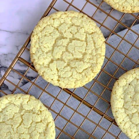 Almond Flour Sugar Cookies