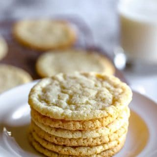 Almond Flour Sugar Cookies