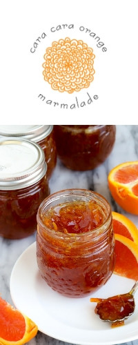 Cara cara label image and photo of cara cara marmalade