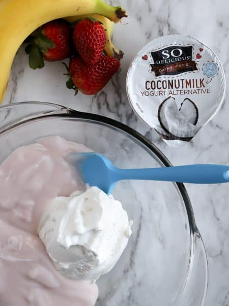 Cocowhip coconut whipped topping and so delicious yogurt alternative in a bowl