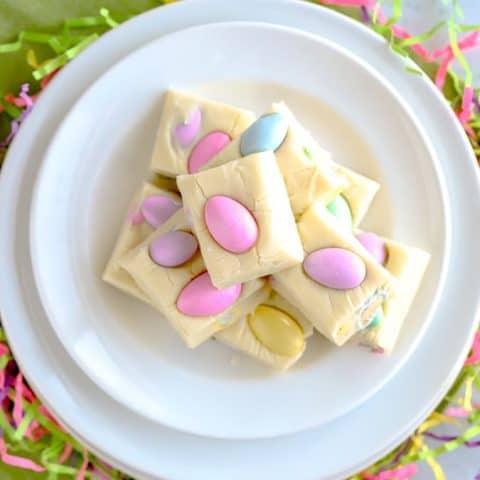 Easter White Chocolate Fudge