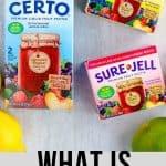 Types of pectin to make jam
