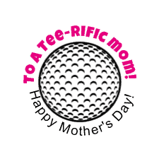 Happy Mothers Day golf lable printable