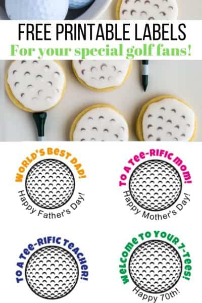 free printables listed for golf ball party favors