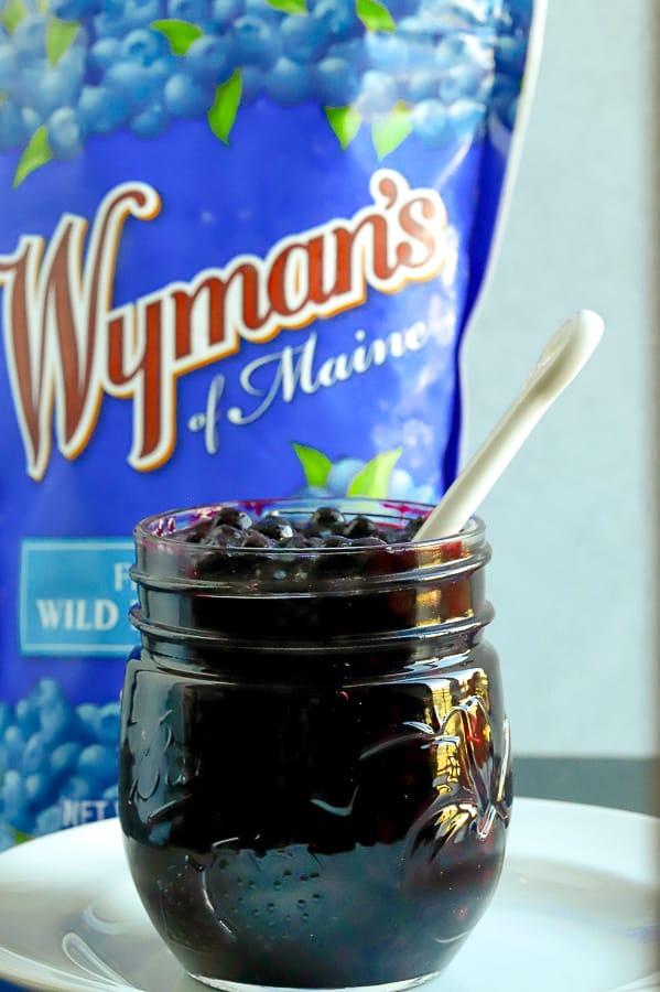 Wyman's of Maine Frozen Fresh Wild Blueberry Sauce