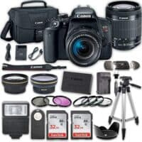 Canon EOS T7i DSLR Camera with 18-55mm IS STM Lens