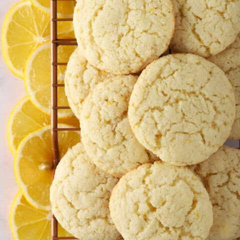 Lemon Almond Flour Cookies