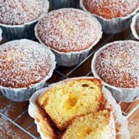 Easy Lemon Curd Muffins