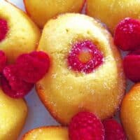 Lemon-Raspberry Madeleines