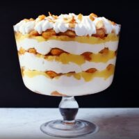 Lemon Curd Mascarpone and Earl Grey Amaretto Tiramisu Trifle