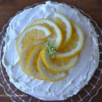 Triple Lemon Buttercream Cake