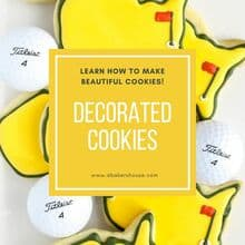 Decorated Cookies square