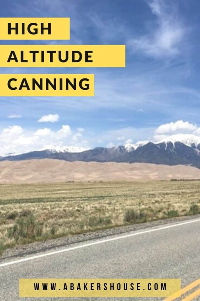 Pinterest image high altitude canning mountains in distance