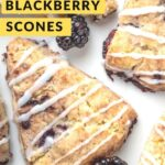 blackberries on a plate with so delicious yogurt alternative